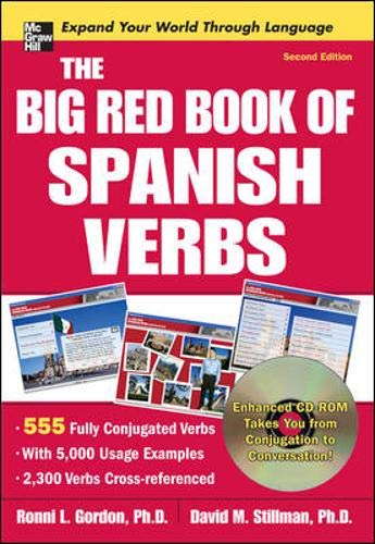 9780071591553: The Big Red Book of Spanish Verbs with CD-ROM, Second Edition
