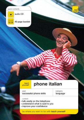9780071591782: Teach Yourself Phone Italian (Book + Audio CD)