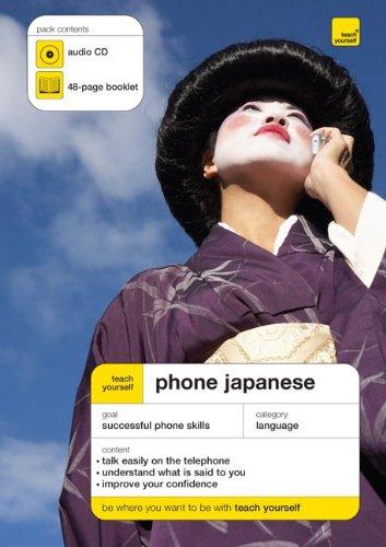 9780071591829: Teach Yourself Phone Japanese