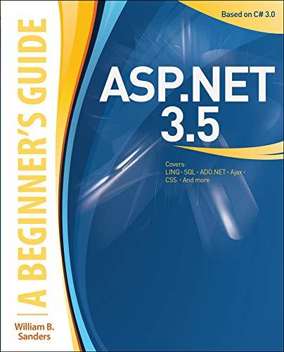 9780071591942: ASP.NET 3.5: A Beginner's Guide