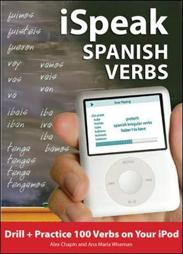 9780071592161: iSpeak Spanish Verbs (MP3 CD + Guide) (Ispeak Audio Phrasebook)