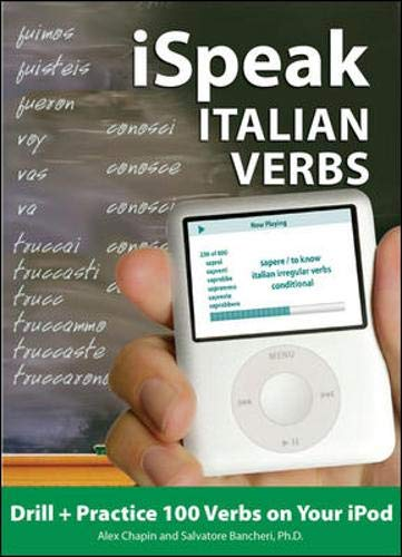 9780071592246: iSpeak Italian Verbs (MP3 CD + Guide) (Ispeak Audio Phrasebook)