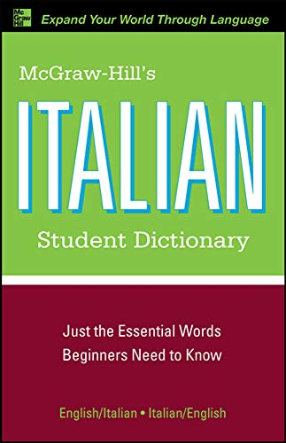 9780071592338: McGraw-Hill's Italian Student Dictionary (McGraw-Hill Dictionary)