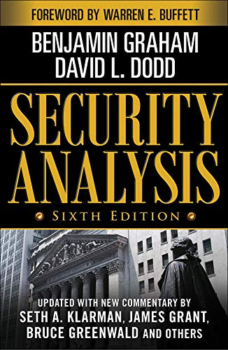 9780071592536: Security Analysis: Sixth Edition, Foreword by Warren Buffett (Security Analysis Prior Editions)