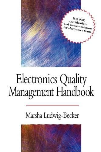9780071596329: Electronics Quality Management Handbook