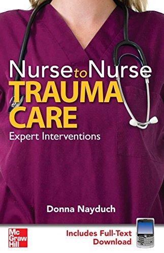 9780071596770: Nurse to Nurse Trauma Care