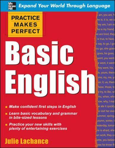 9780071597623: Practice Makes Perfect: Basic English