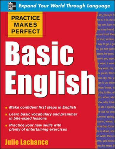 9780071597623: Practice Makes Perfect: Basic English (Practice Makes Perfect Series)