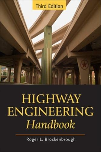 9780071597630: Highway Engineering Handbook (Mechanical Engineering)