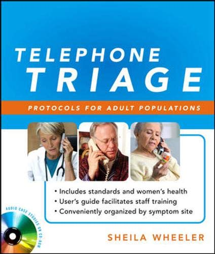 9780071598002: Telephone Triage: Protocols for Adult Populations
