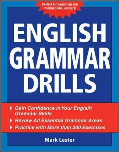 English Grammar Drills (0071598111) by Lester, Mark