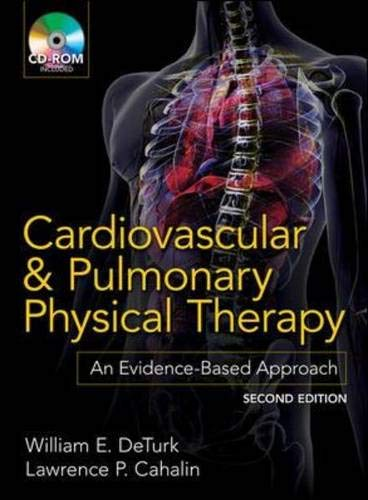 9780071598125: Cardiovascular and Pulmonary Physical Therapy, Second Edition: An Evidence-Based Approach