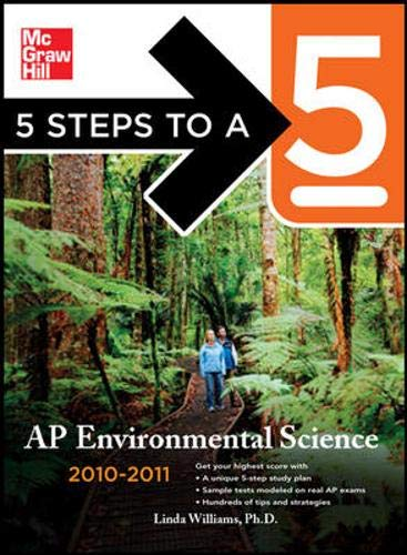 9780071598248: 5 Steps to a 5 AP Environmental Science, 2010-2011 Edition (5 Steps to a 5 on the Advanced Placement Examinations Series)
