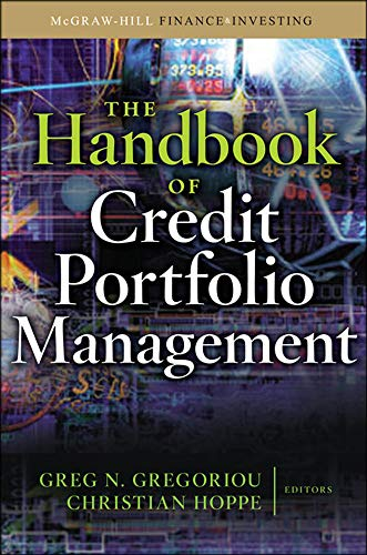 9780071598347: The Handbook of Credit Portfolio Management (McGraw-Hill Finance & Investing)