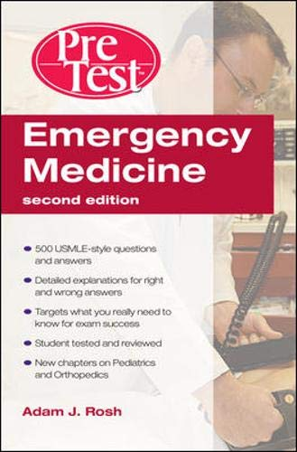 9780071598613: Emergency Medicine PreTest Self-Assessment and Review, Second Edition (PreTest Clinical Medicine)
