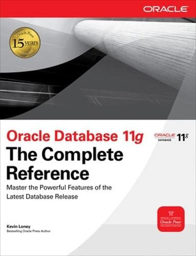 9780071598750: Oracle Database 11g The Complete Reference (Oracle Press)