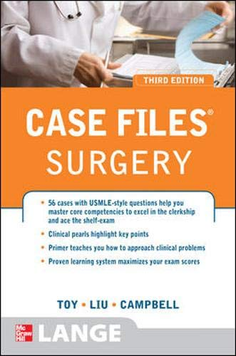 9780071598972: Case Files Surgery, Third Edition (Lange Case Files)
