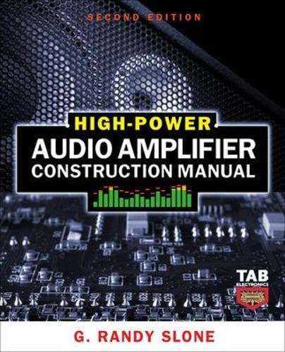 9780071599252: High-Power Audio Amplifier Construction Manual