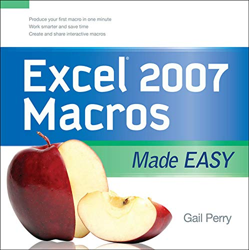 9780071599580: EXCEL 2007 MACROS MADE EASY (Made Easy Series)