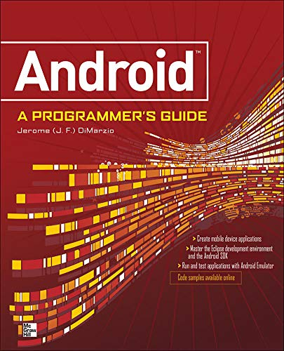 9780071599887: ANDROID A PROGRAMMERS GUIDE
