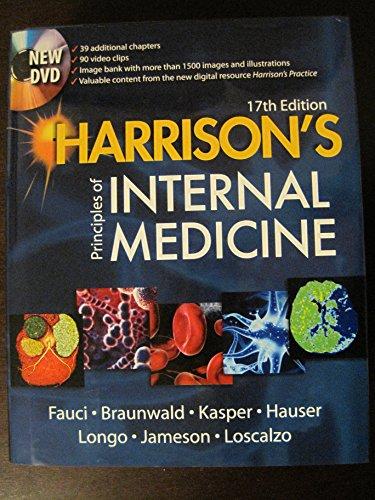 9780071599917: Harrison's Principles of Internal Medicine Editors, Anthony S. Fauci ... [et Al.]