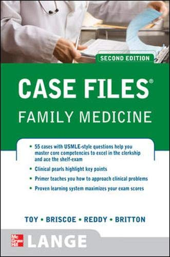 9780071600231: Case Files Family Medicine, Second Edition (LANGE Case Files)