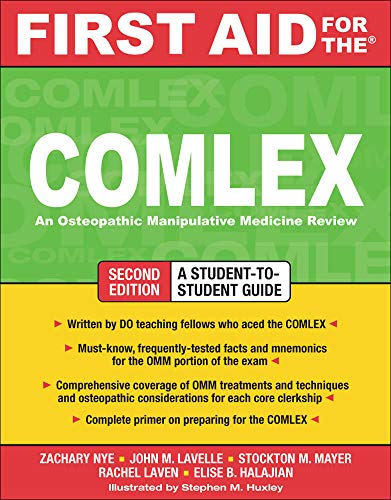 9780071600255: First Aid for the COMLEX, Second Edition (First Aid Series)