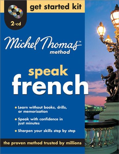 9780071600651: Michel Thomas Method™ French Get Started Kit, 2-CD Program (Michel Thomas Series)