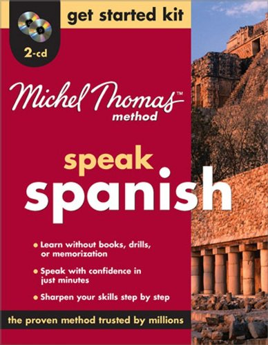 9780071600682: Michel Thomas Method™ Spanish Get Started Kit, 2-CD Program (Michel Thomas Method Speak...)