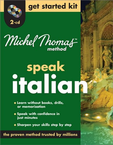 9780071600705: Michel Thomas Method™ Italian Get Started Kit, 2-CD Program (Michel Thomas Speak...)