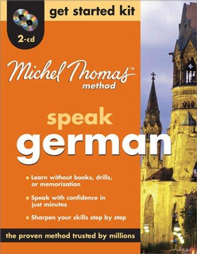 9780071600729: Michel Thomas Method™ German Get Started Kit, 2-CD Program (Michel Thomas Series)