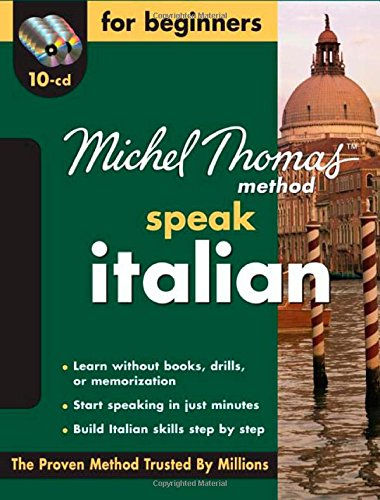 9780071600842: Michel Thomas Method™ Italian For Beginners, 10-CD Program (Michel Thomas Speak...)