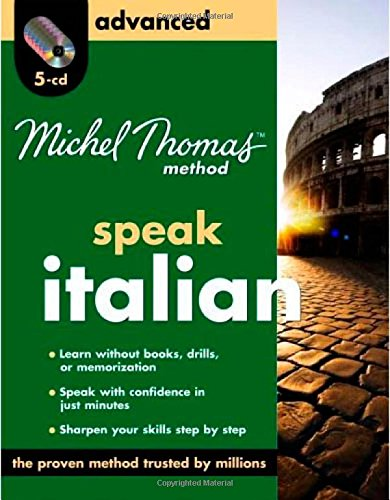 9780071601047: Michel Thomas Method Advanced Speak Italian (Michel Thomas Method Speak...)