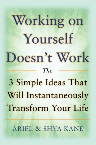 9780071601085: Working on Yourself Doesn't Work: The 3 Simple Ideas That Will Instantaneously Transform Your Life