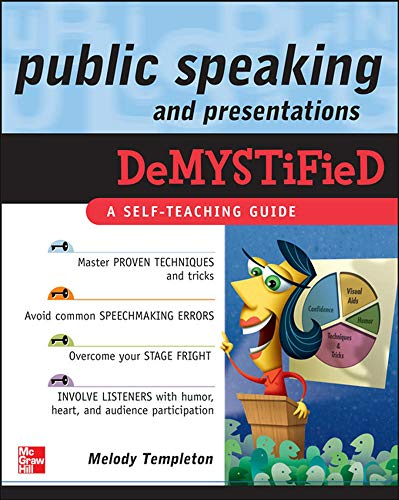9780071601214: Public Speaking and Presentations Demystified