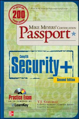 9780071601238: Mike Meyers' CompTIA Security+ Certification Passport, Second Edition (Mike Meyers' Certification Passport)