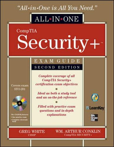 9780071601276: CompTIA Security+ All-in-One Exam Guide, Second Edition (Exam SY0-201)