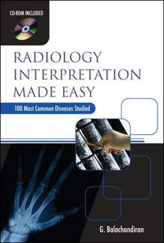9780071601825: Radiology Interpretation Made Easy