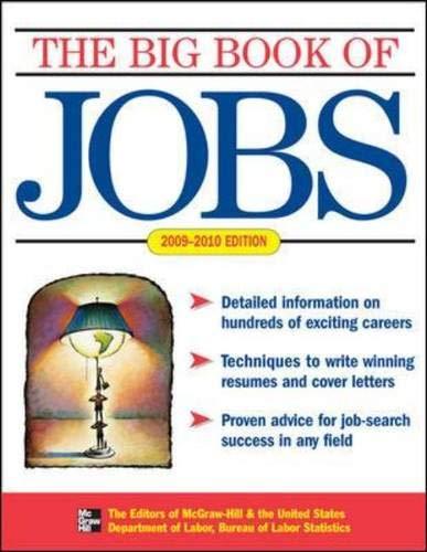9780071602044: BIG BOOK OF JOBS, 2009-2010