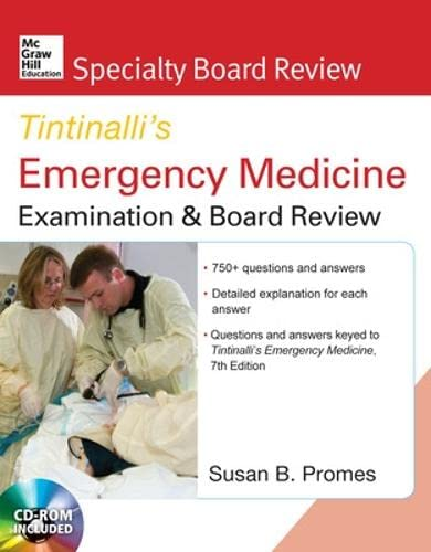 9780071602051: McGraw-Hill Specialty Board Review Tintinalli's Emergency Medicine Examination and Board Review 7th edition