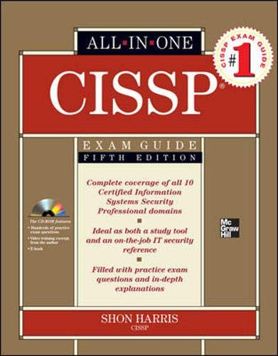 9780071602174: CISSP All-in-One Exam Guide, Fifth Edition