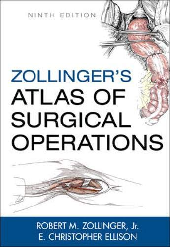 9780071602266: Zollinger's Atlas of Surgical Operations, 9th Edition