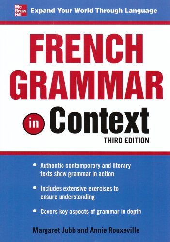 9780071602686: French Grammar in Context