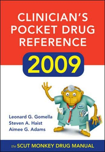 9780071602808: Clinician's Pocket Drug Reference 2009