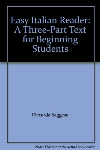 9780071603362: Easy Italian Reader: A Three-Part Text for Beginning Students
