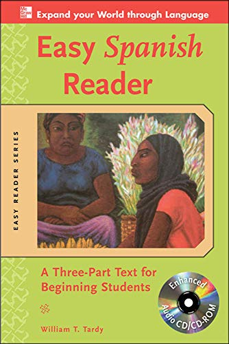 9780071603386: Easy Spanish Reader w/CD-ROM: A Three-Part Text for Beginning Students (Easy Reader Series)