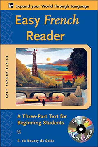 9780071603423: Easy French Reader w/CD-ROM: A Three-Part Text for Beginning Students (Easy Reader Series)