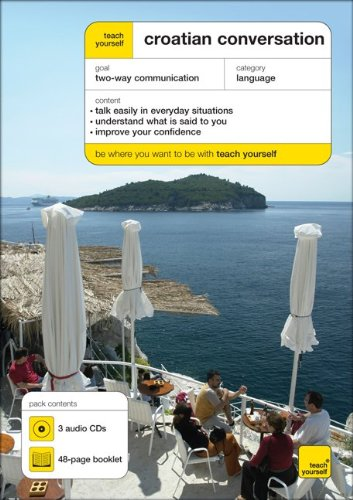 9780071603553: Teach Yourself Croatian Conversation (3 CDs + Booklet) (TY: Conversation)