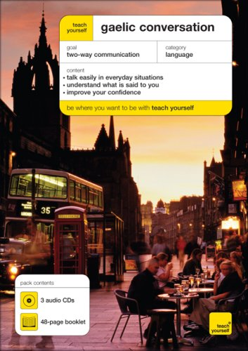 9780071603560: Teach Yourself Gaelic Conversation (3 CDs + Booklet) (TY: Conversation)