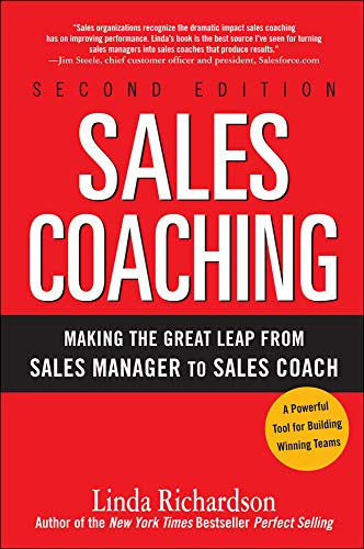 9780071603805: Sales Coaching: Making the Great Leap from Sales Manager to Sales Coach